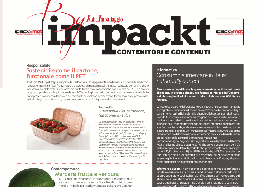 Impackt by ItaliaImballaggio n.1/2018